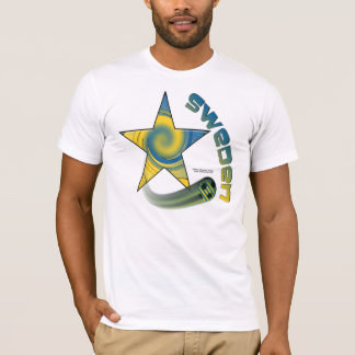Sweden Star Swoosh Men's T-Shirt
