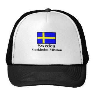 Sweden Stockholm Mission Hat