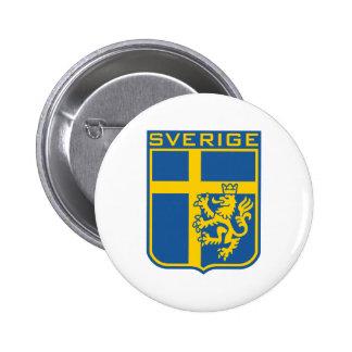 Sweden Sverige Buttons