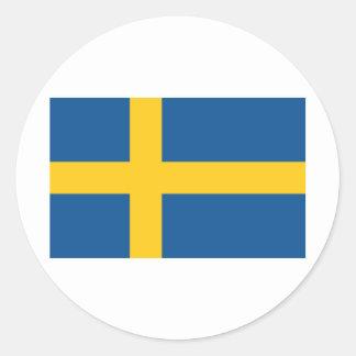 Sweden / Sverige Classic Round Sticker