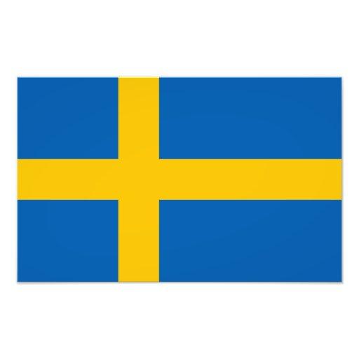 Sweden - Swedish Flag Photograph