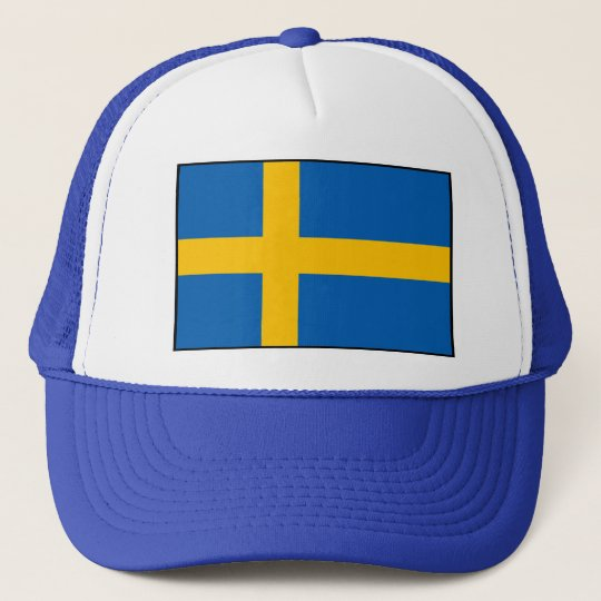 Sweden - Swedish Flag Trucker Hat