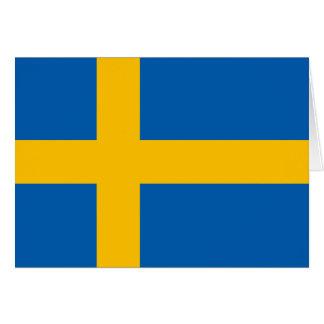 Sweden - Swedish National Flag Card