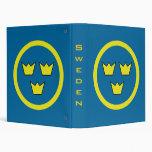 Sweden Three Crowns Binder