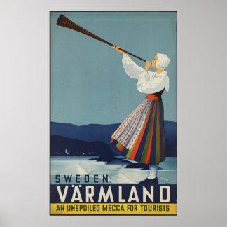 Sweden Varmland Poster