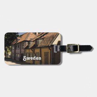 Sweden Village Travel Bag Tag