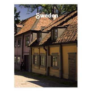 Sweden Village Postcard