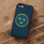 Sweden Vintage Roundel iPhone 6 case