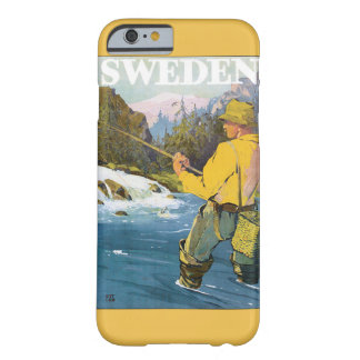 Sweden Vintage Travel Poster Barely There iPhone 6 Case