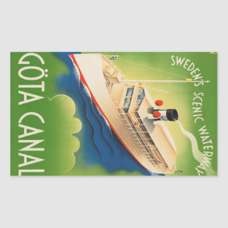 Sweden Vintage Travel stickers