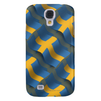 Sweden Waving Flag Galaxy S4 Cover