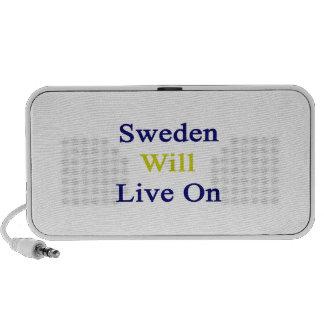 Sweden Will Live On Speaker System