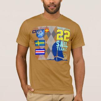 Sweden Yachting Port Richman Marine Argyle T-Shirt
