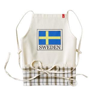 Sweden Zazzle HEART Apron