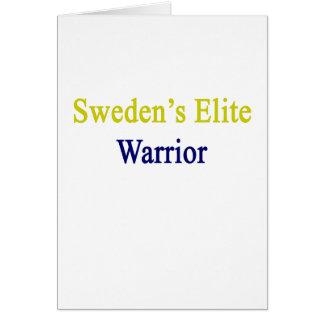 Sweden's Elite Warrior Card