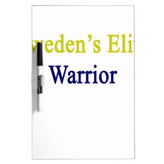 Sweden's Elite Warrior Dry-Erase Board