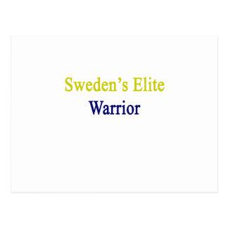 Sweden's Elite Warrior Postcard