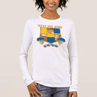 Sweden's Got Goal Ladies Plus Size Long Sleeve Long Sleeve T-Shirt