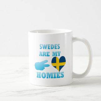 Swedes are my Homies Classic White Coffee Mug