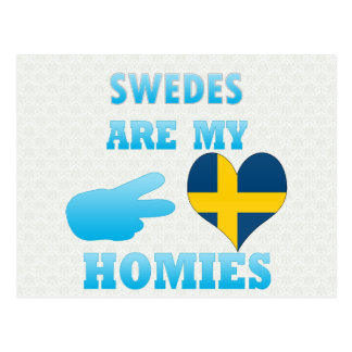 Swedes are my Homies Postcards