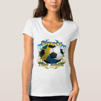 Swede's Best Ladies V-Neck Jersey T-Shirt