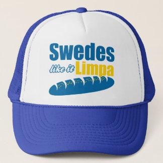 Swedes Like it Limpa Funny Trucker Hat