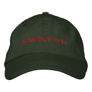 SWEDETOWN EMBROIDERED BASEBALL HAT