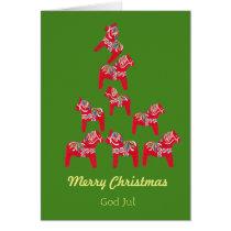 Swedish American Christmas Card