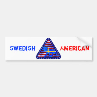 Swedish-American Moose Bumper Stickers