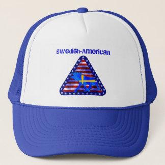 Swedish-American Moose Trucker Hat