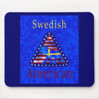 Swedish-American Mousepad