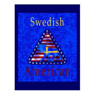 Swedish-American Postcard