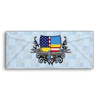 Swedish-American Shield Flag Envelope