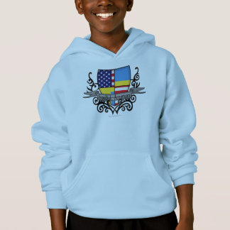 Swedish-American Shield Flag Hoodie