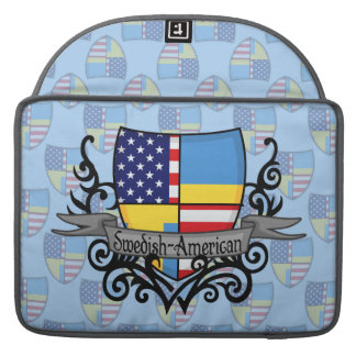 Swedish-American Shield Flag Sleeve For MacBooks