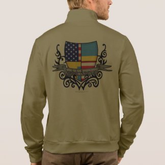 Swedish-American Shield Flag Printed Jacket