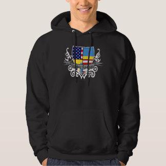 Swedish-American Shield Flag Sweatshirts