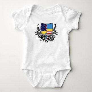 Swedish-American Shield Flag T-shirt