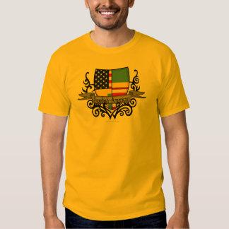 Swedish-American Shield Flag T-shirts