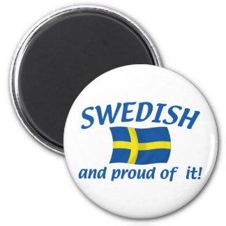 Swedish and Proud Magnet
