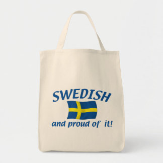 Swedish and Proud Tote Bag