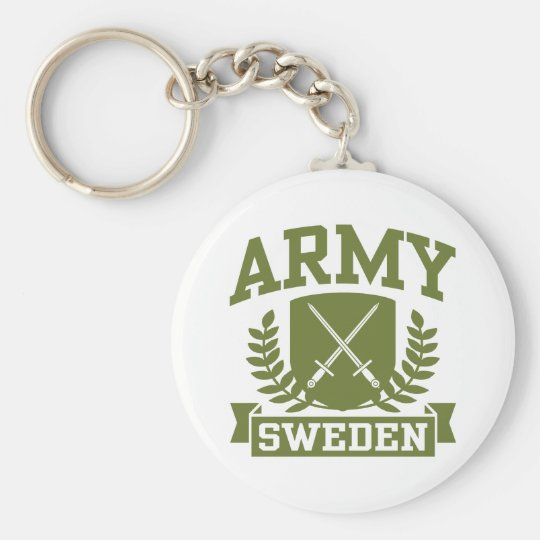 Swedish Army Keychain
