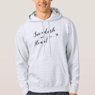 Swedish At Heart Hoodie, Sweden Hoodie