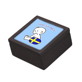 Swedish Baby Jewelry Box