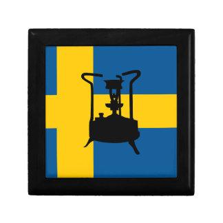 Swedish brass pressure stove gift box