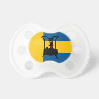 Swedish brass pressure stove pacifier