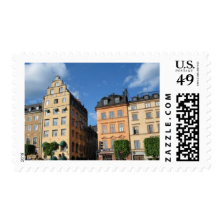 Swedish Buildings Postage