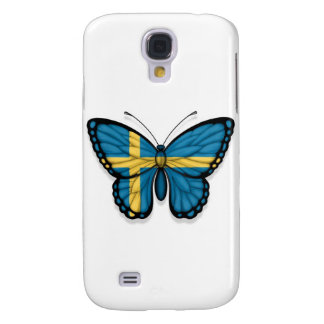 Swedish Butterfly Flag Samsung S4 Case