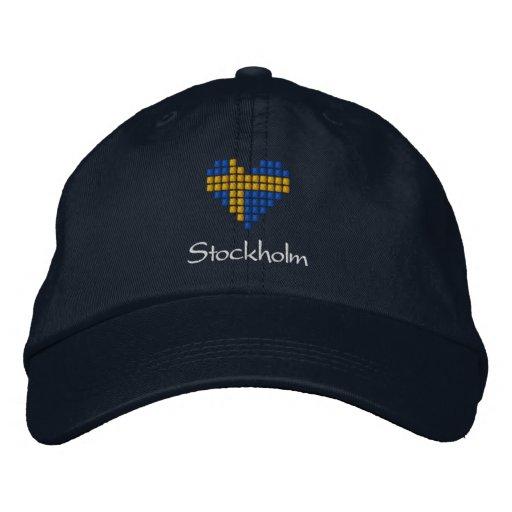 Swedish Cap - Swedish heart Flag Hat