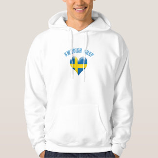 Swedish Chef Heart Shaped Flag of Sweden Hoodie